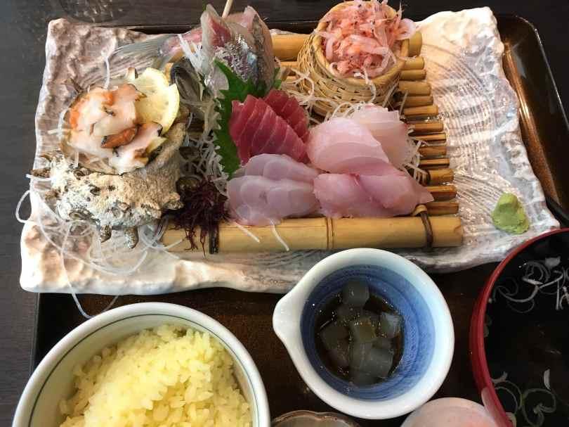 Sashimi Plate, Izu Peninsula, Gluten-Free