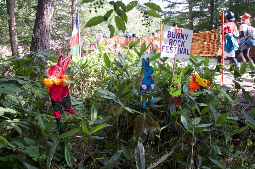 Fuji Rock Festival mascots