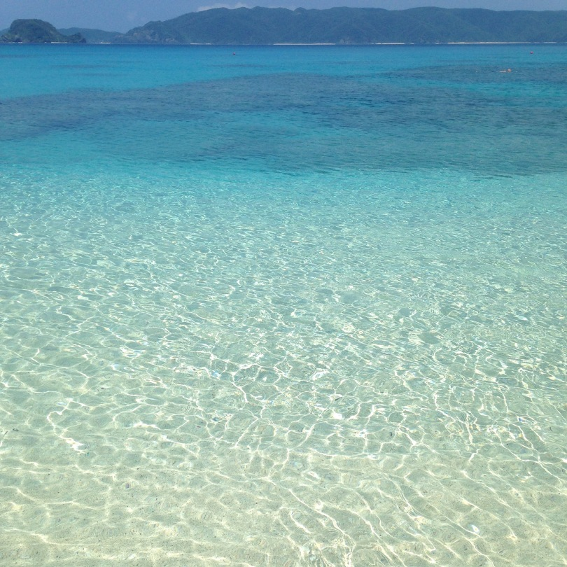 Crystal Clear Okinawa Water, Zamami