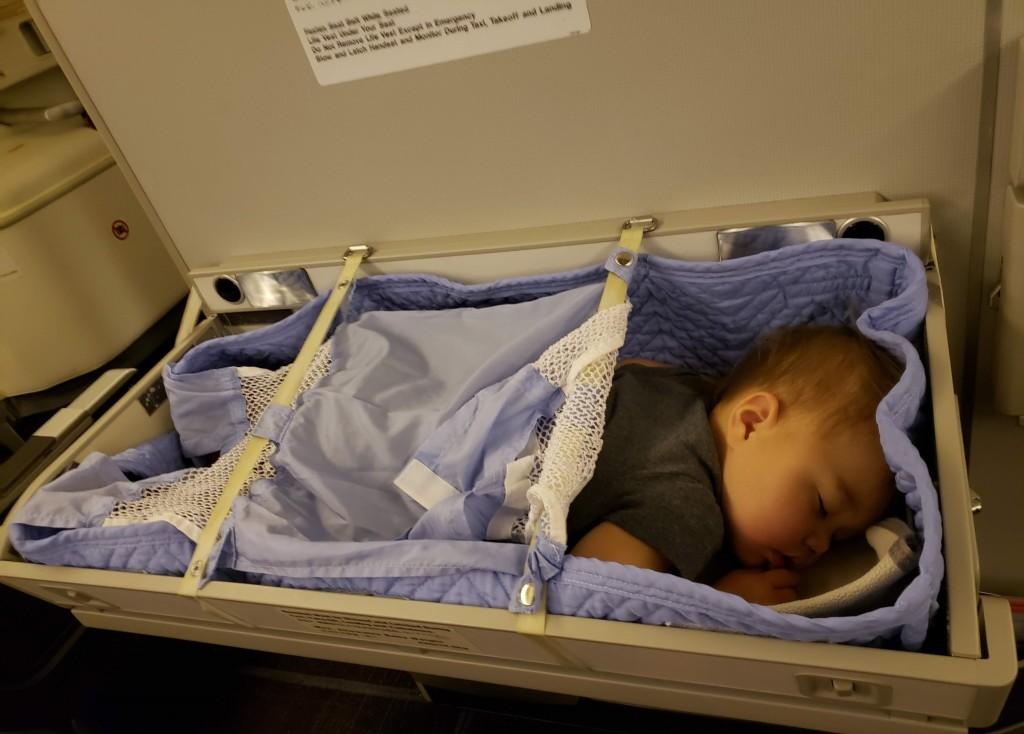 JAL baby bassinet