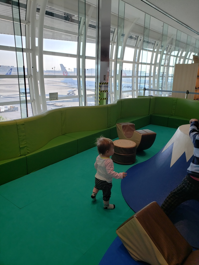 Haneda Airport kids play area