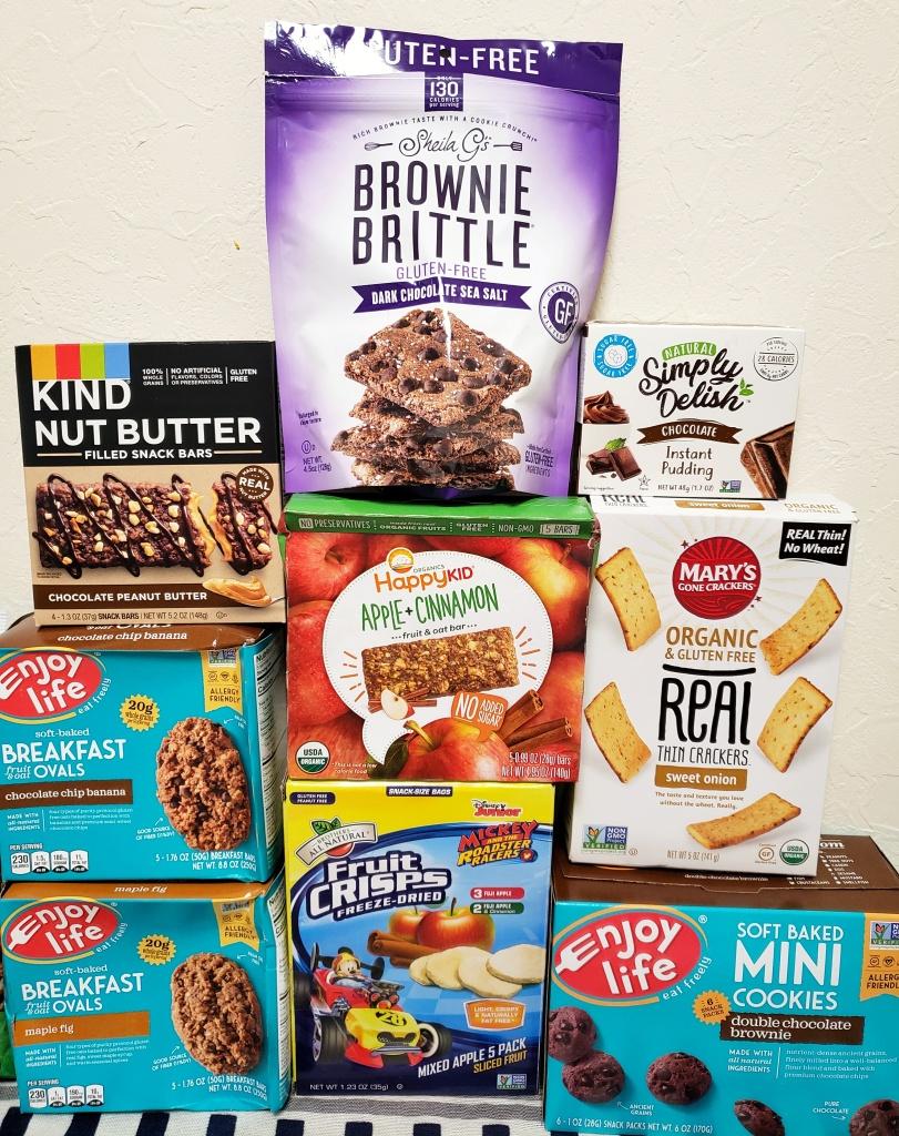 Gluten-free iherb snacks